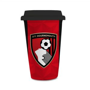 AFC Bournemouth Club Badge Personalised Reusable Cup