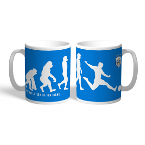 Huddersfield Town FC Evolution Personalised Mug