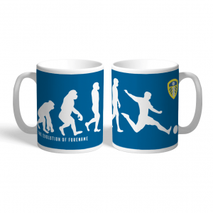 Leeds United FC Evolution Personalised Mug